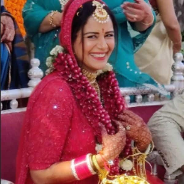 Mona Singh Gets Hitched To Boyfriend Shyam In A Private Ceremony