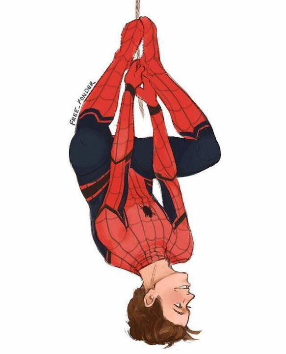 Spider-Man Homecoming One shots - Stuff(pt 5)   Marvel