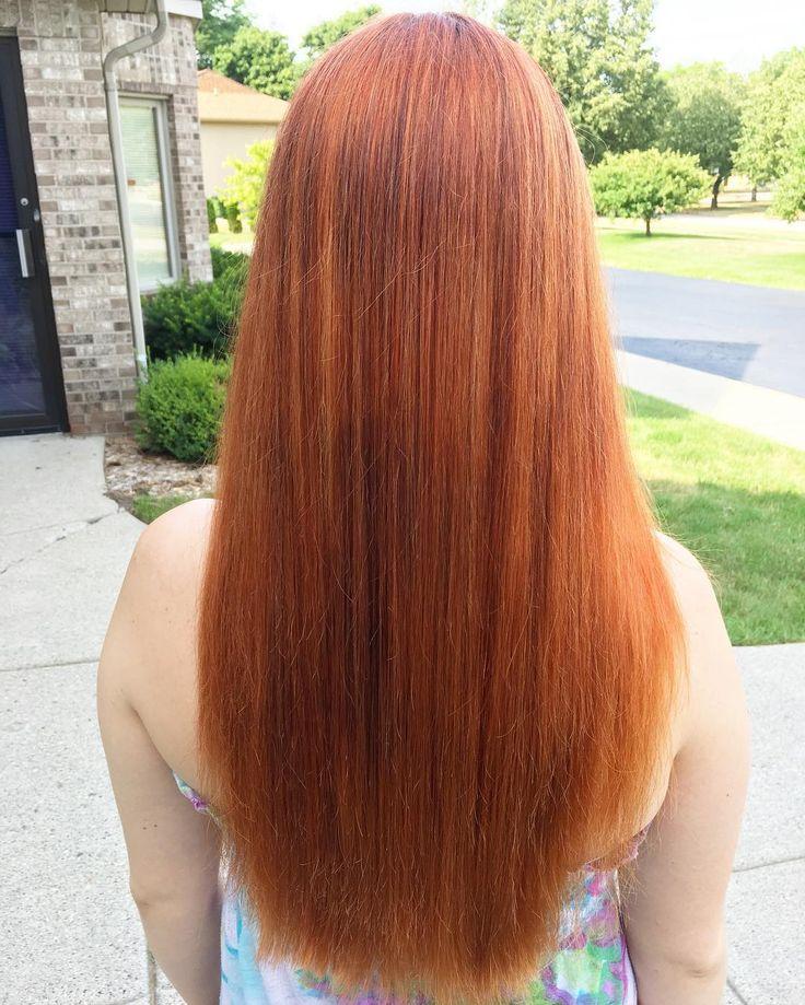 best 25 burnt orange hair color ideas on pinterest. Black Bedroom Furniture Sets. Home Design Ideas