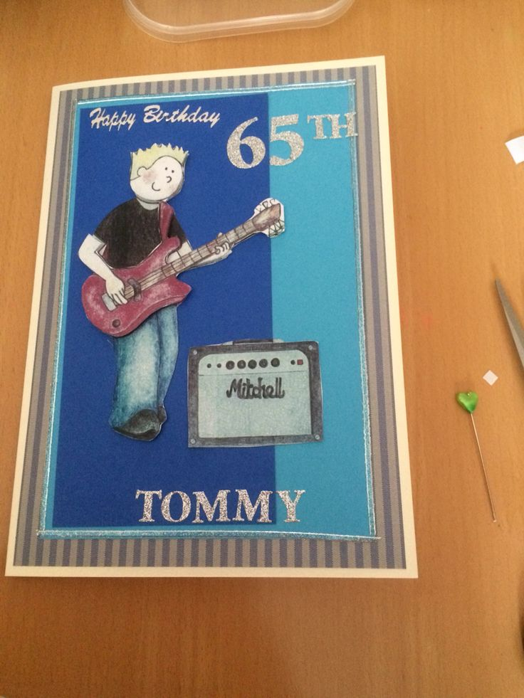 Tommy Rock card