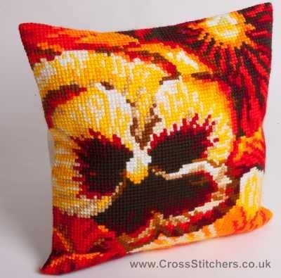 Ete -  Summer Cushion Front Cross Stitch Kit by Collection D'Art