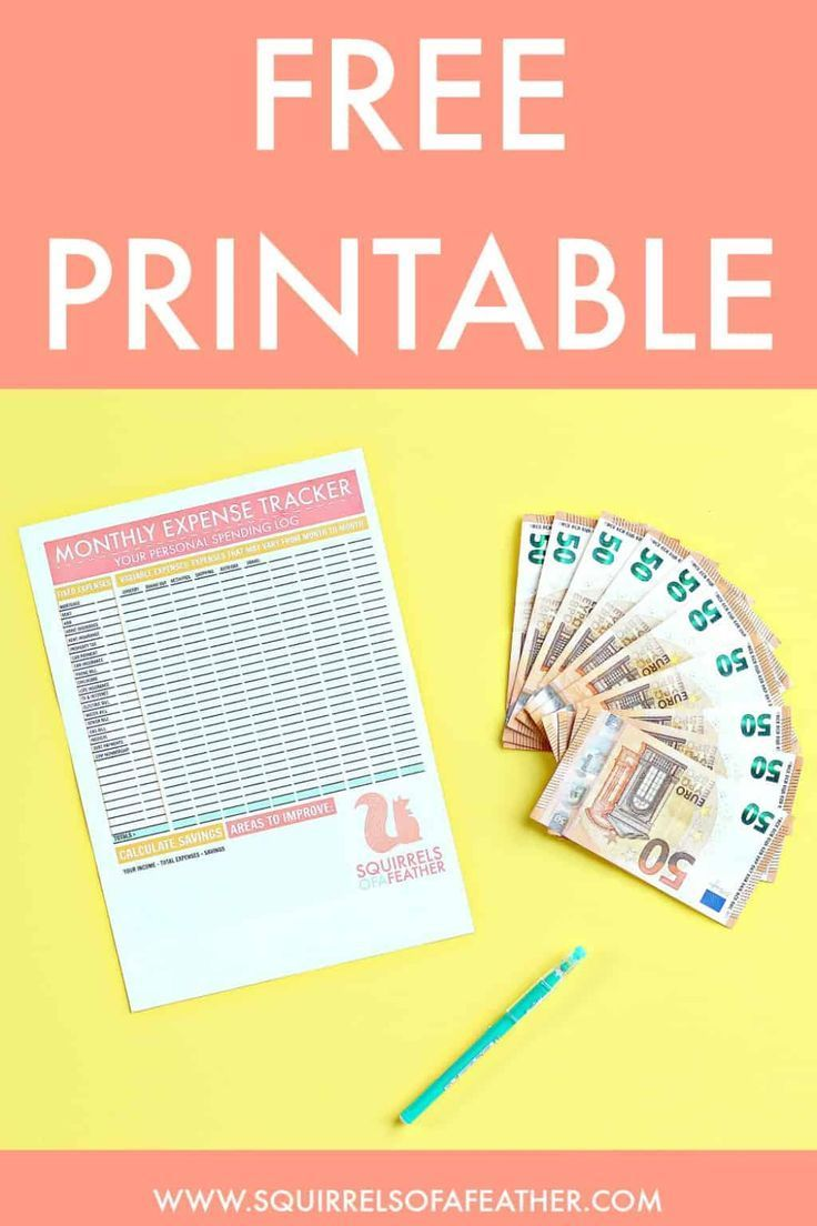 Ultimate Free Printable Monthly Expense Tracker Pdf Video Tutorial Expense Tracker Monthly Expenses Budget Tracker