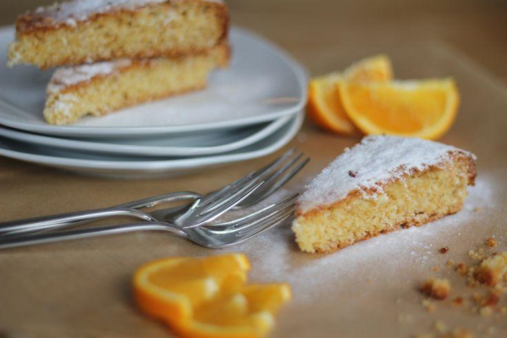Juicy orange cake