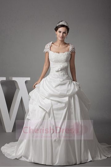 Empire Princess Wedding Dresses Ball gown Cherishdress