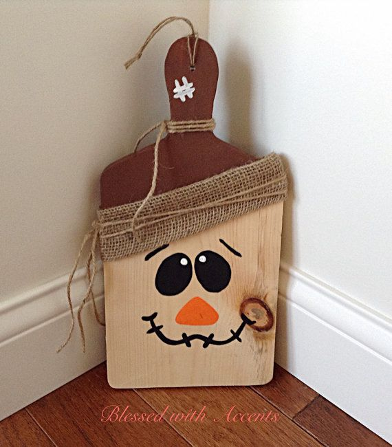 Primitive scarecrow primitive fall decor by BlessedwithAccents