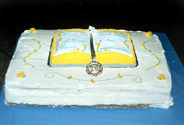 Cake Decoration Ideas For Church : Church Anniversary Cake Cake Decorating Fun! Pinterest ...