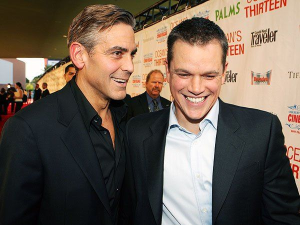 George Clooney Heaps Praise On Matt Damon The Best Actor Hes Worked With