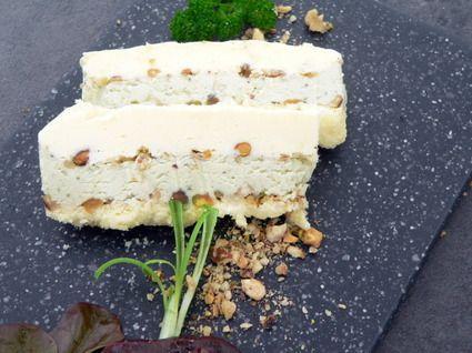Terrine de fromages aux fruits secs