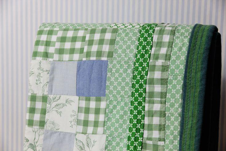 patchwork zielony w OFFU shop na DaWanda.com