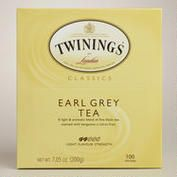 Twinings Earl Grey Tea, 100 Count Box