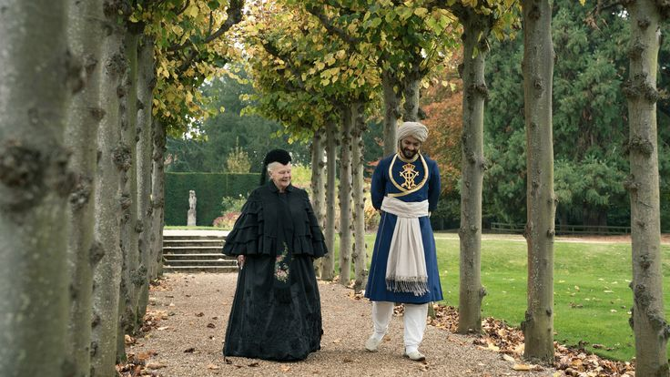 Victoria & Abdul 2017    Queen Victoria strikes up an unlikely friendship with a young Indian clerk named Abdul Karim.  Director: Stephen Frears  Stars: Judi Dench, Michael Gambon, Olivia Williams, Eddie Izzard
