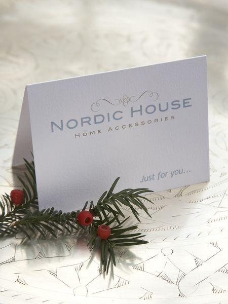 Nordic dom Darčekové poukazy