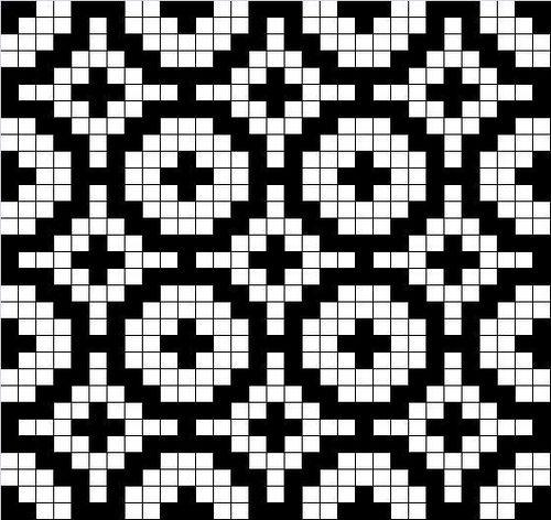 mosaic knitting charts