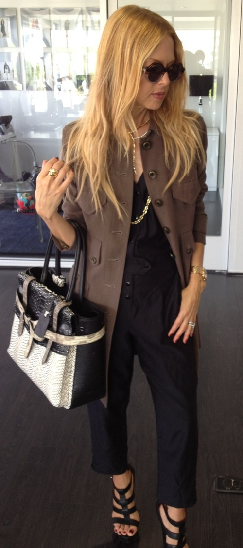 Rachel Zoe, fashion idol...love this outfit!