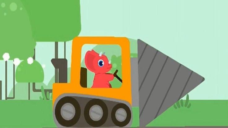 Trator desenho | trator trabalhando | trator e dinossauro | jogo infanti...