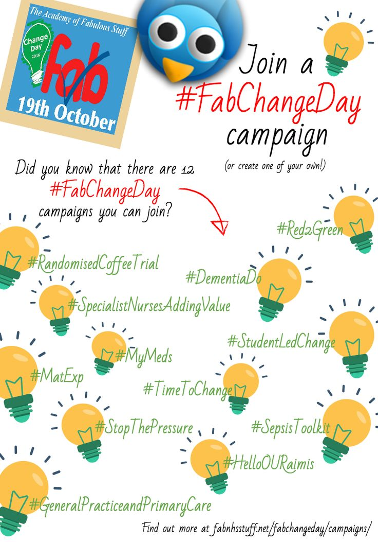 Get to grips with the Fab Change Day Campaigns - WeCommunities