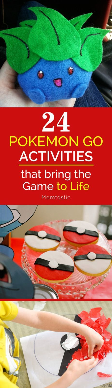 If your child has been recently introduced to Pokemon via the app, it might be a nice idea to bring the game into the real real world with a few fun Pokemon GO activities and crafts.