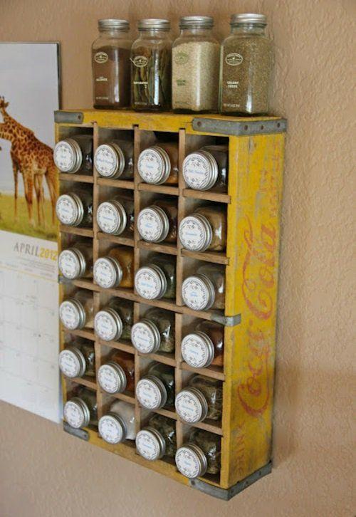 Die besten 25+ Gewürzaufbewahrung Ideen auf Pinterest - ordnung im küchenschrank