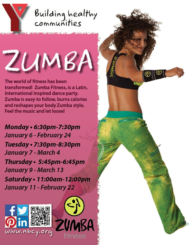 #January #Zumba classes are open for registration!