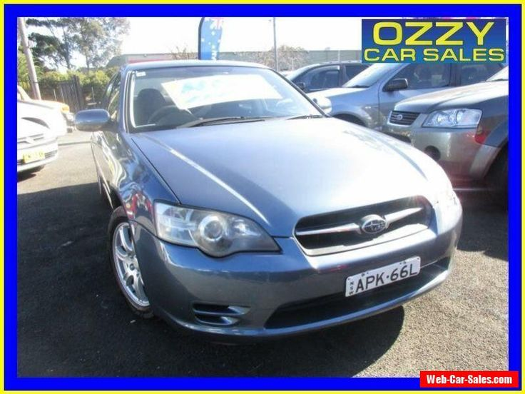 2003 Subaru Liberty MY04 2.0I Blue Automatic 4sp A Sedan #subaru #liberty #forsale #australia