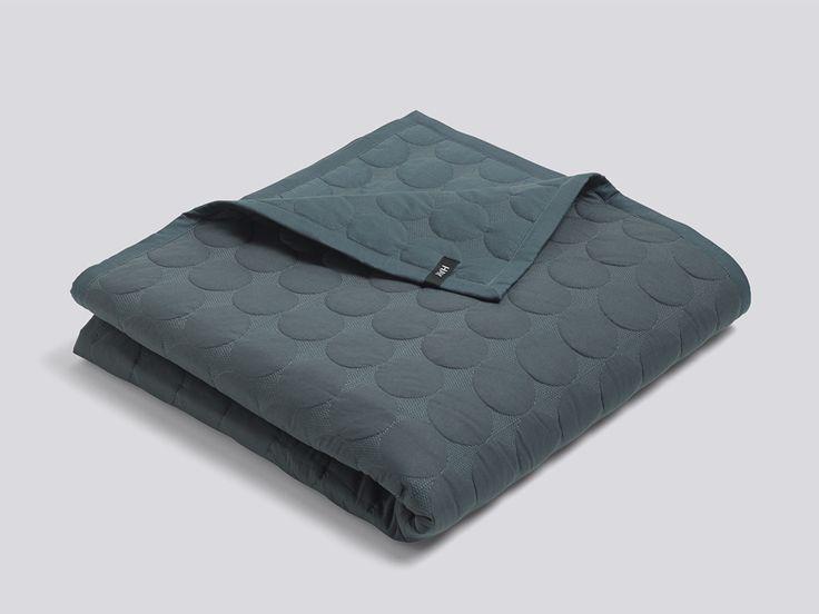 Hay Mega Dot Bed Cover Green