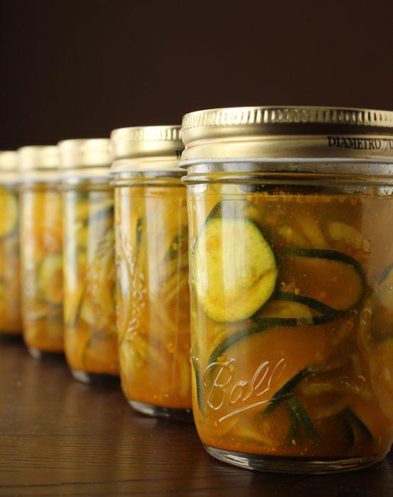 zucchini pickles | visual feast, inner delight | Pinterest