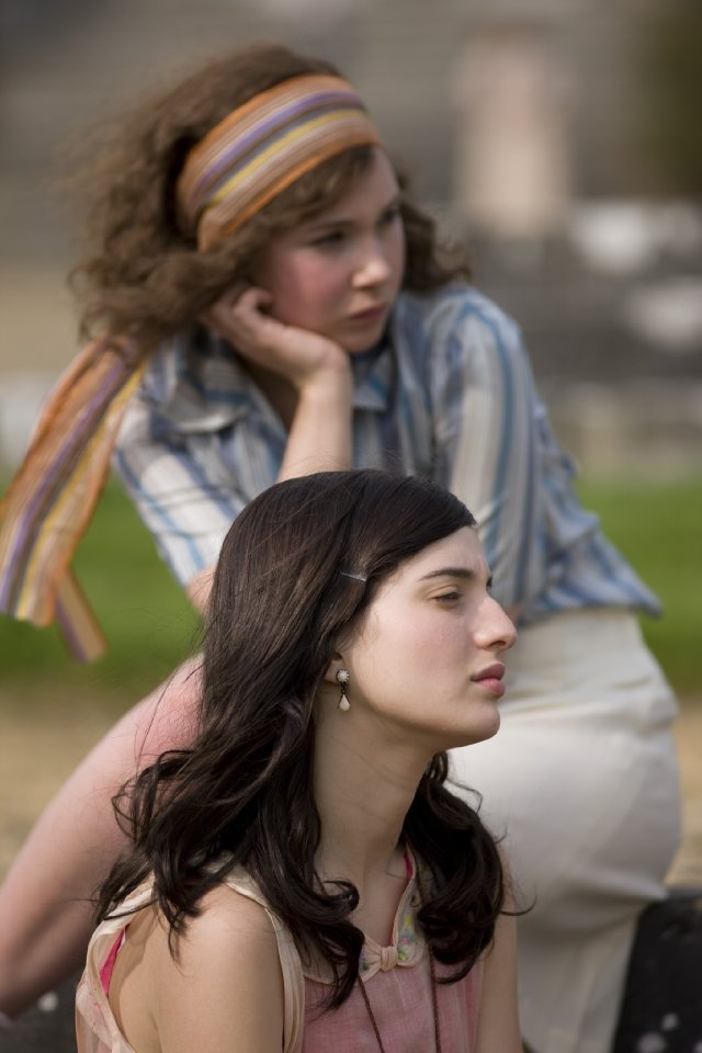 Di Radfield and Fiamma Coronna - Juno Temple and Maria Valverde in Cracks, set in the 1930s (2009).