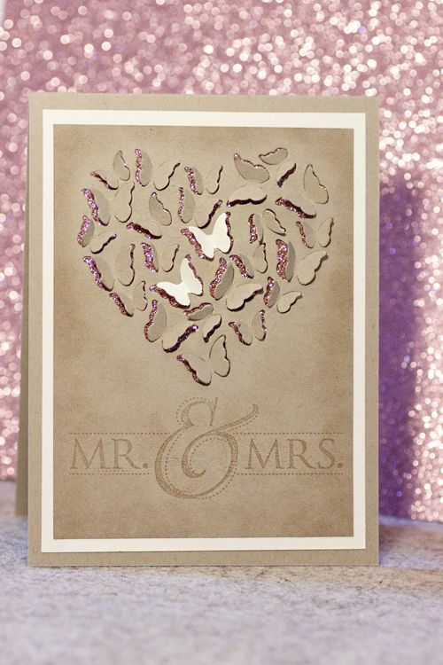 Hochzeitskarte, Mr. & Mrs, Stampin´Up! Stempeln, Craft, basteln, Wedding, Love, stampin https://www.facebook.com/Colorspell