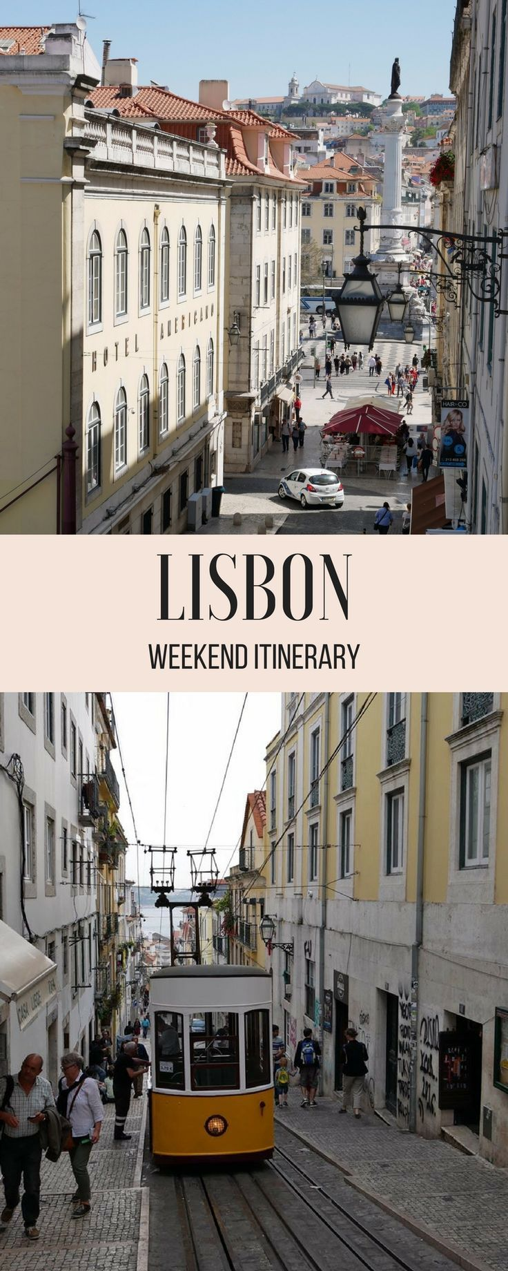 The perfect Lisbon itinerary to make the most of a weekend in Lisbon, Portugal. Suitable for all ages, this itinerary includes must-see Lisbon attractions, tips on where to eat and practical info to make the most of your weekend in Lisbon. #lisbon #portugal #itinerary