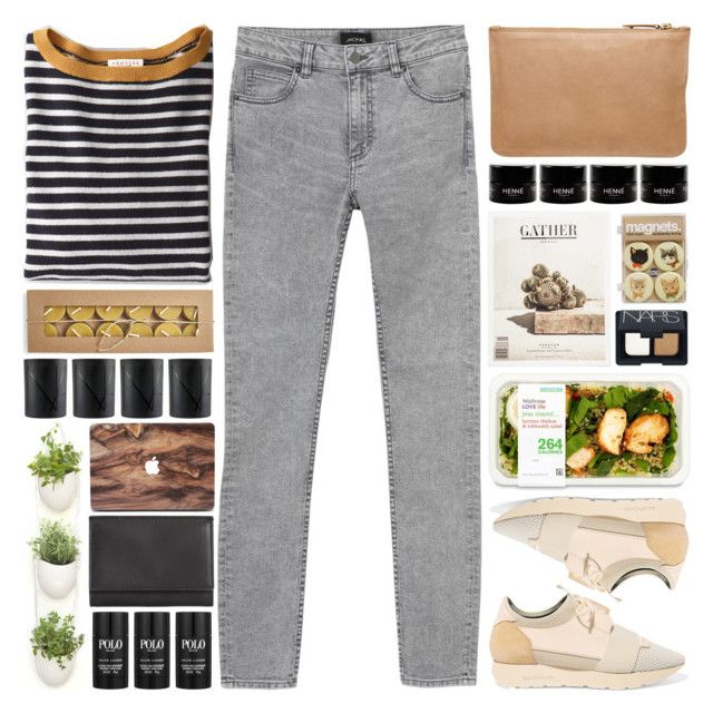 """""""; childhood"""" by owlmarbles ❤ liked on Polyvore featuring Balenciaga, Monki, Demylee, NARS Cosmetics, Witchery, Maison Margiela and Ralph Lauren"""