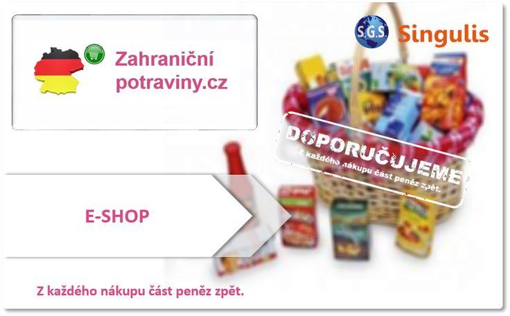NOVÝ OBCHODNÍ PARTNER  - E-SHOP  ZAHRANIČNÍPOTRAVINY.CZ  Naše firma byla založena v roce 2014.  V oboru dovozu kvalitních potravin, drogerie a dětské výživy působíme už od roku 2012.  Pokud jste v našem sortimentu nenašli jakékoliv zboží - můžeme se pokusit Vám ho dovést. Všechny produkty přidáváme na přání zákazníků nebo ty co sami osobně vyzkoušíme.  http://www.singulis.cz/pages/obchodnik.aspx?cla_id=47535