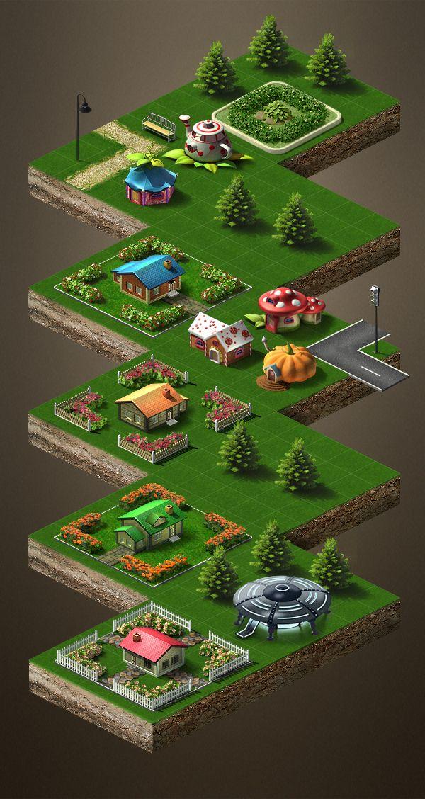 Game models on Behance