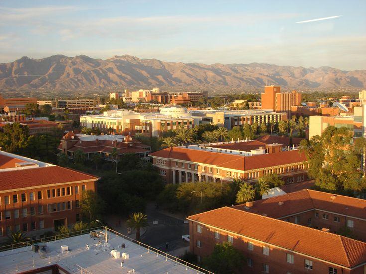 University of Arizona - how it looks today!