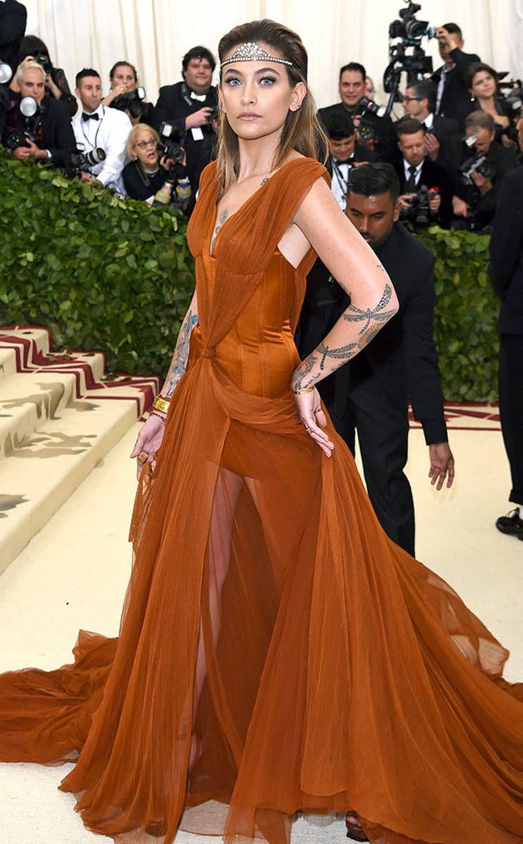 182c1134d6a8 2018 Met Gala Red Carpet Fashion Paris Jackson, 2018 Met Gala, Red ...