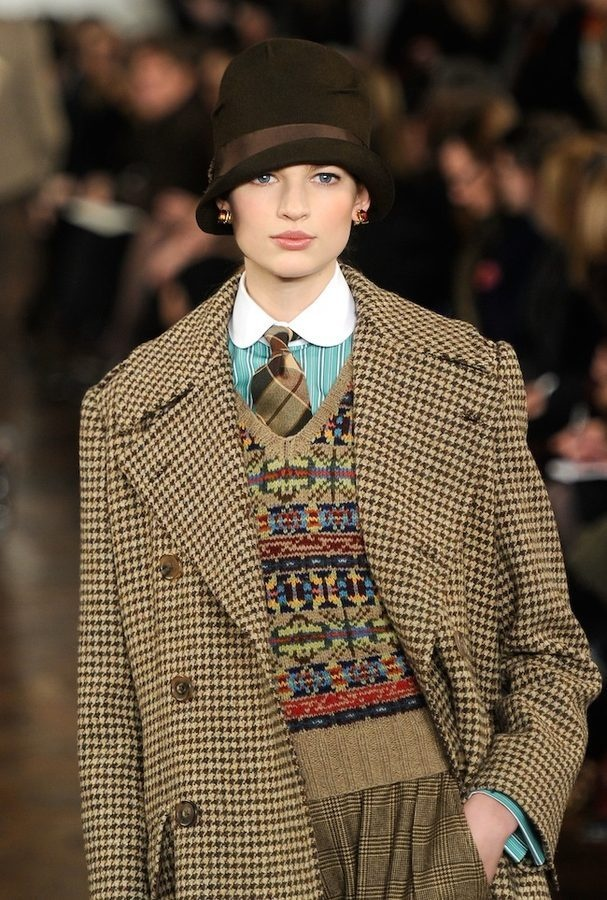 All the Drool-Worthy Downton Looks from Ralph Lauren Fall 2012. Japan  OutfitBrideshead RevisitedPolo ...