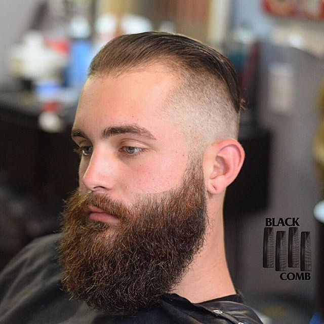 Salutes @dablackcomb for taming the mane of this #LionofLancaster with #maestrosclassic • We Appreciate You Maestro #beard #barber #beardlife #beardcare #noshavenovember #noshave #beardlineup...
