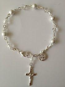 Bolos y recuerdos para Bautizo y Primera Comunion: rosarios