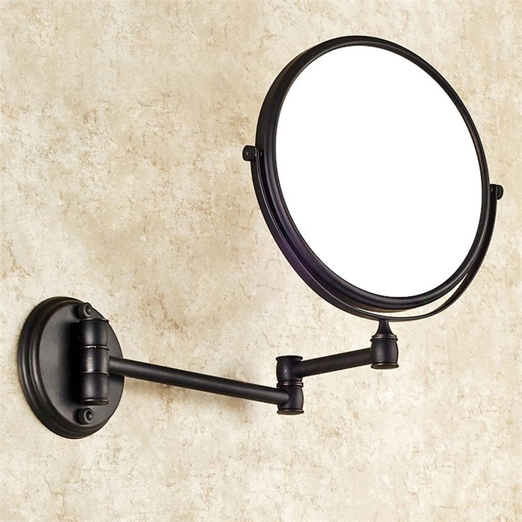 化粧鏡 バスアクセサリー 浴室用品 真鍮製 ORB
