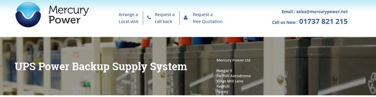 UPS Power Backup – Mercury Power provide excellent UPS power supply system/service to give high performance power backup and Uninterruptible Power Supply. http://mercurypower.net/power/