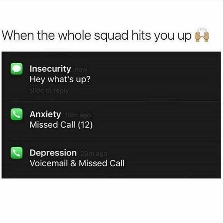 When The Whole Squad Hits You Up Truth Hurts Wholeness Stressed Out