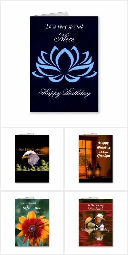 Birthday Cards - Family / Friends