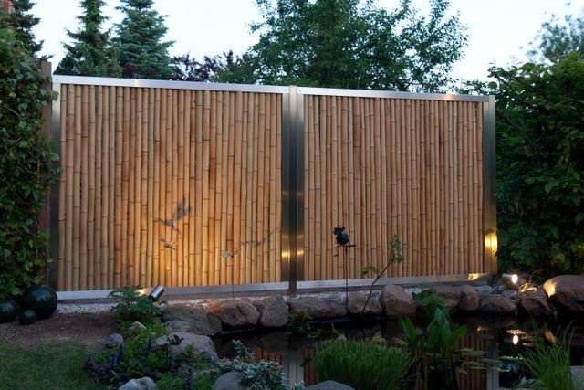 487 best images about garten on pinterest bamboo fence oder and wood storage. Black Bedroom Furniture Sets. Home Design Ideas