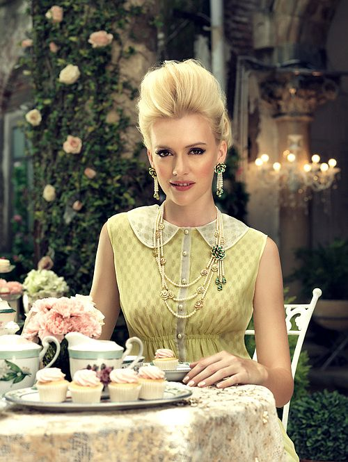 Tea time with style and luxury #gorgeous
