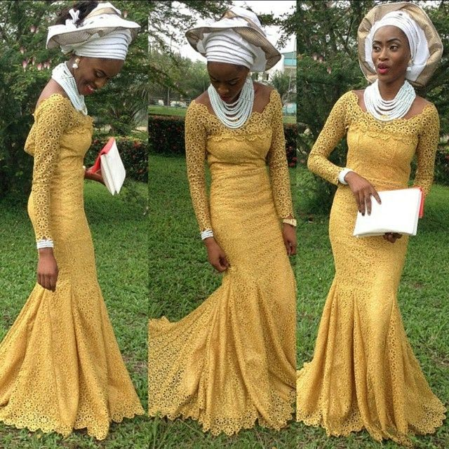 60 best african lace dresses images on pinterest african for African wedding dresses for guests