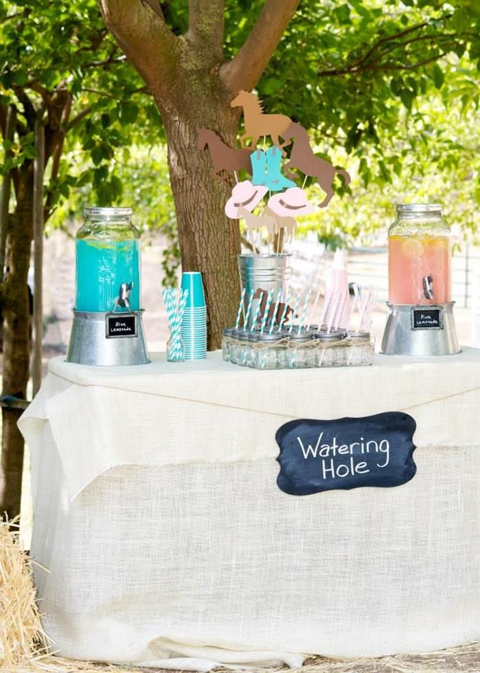 Vintage Cowboy and Cowgirl Party with Lots of REALLY CUTE IDEAS via Kara's Party Ideas KarasPartyIdeas.com #WesternParty #CowboyParty #Cowgi...