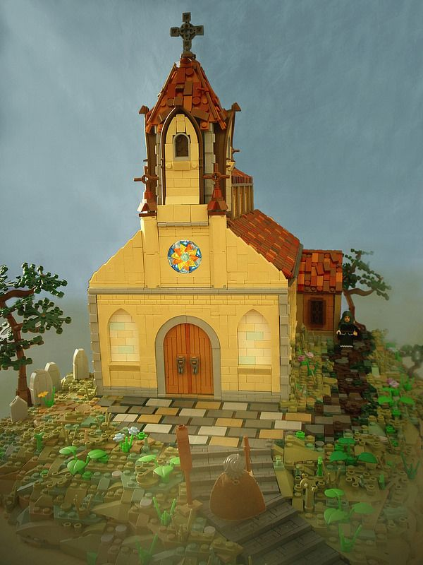 Church on the Hill (front)   by Simon NH