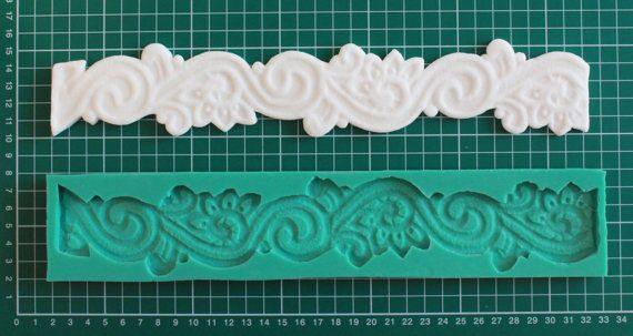 Silicone mold Floral Lace Board  Sugarcraft Cake by CakesCraft