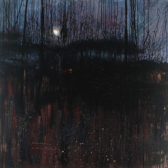 Kurt Jackson - Loud wind through the treetops