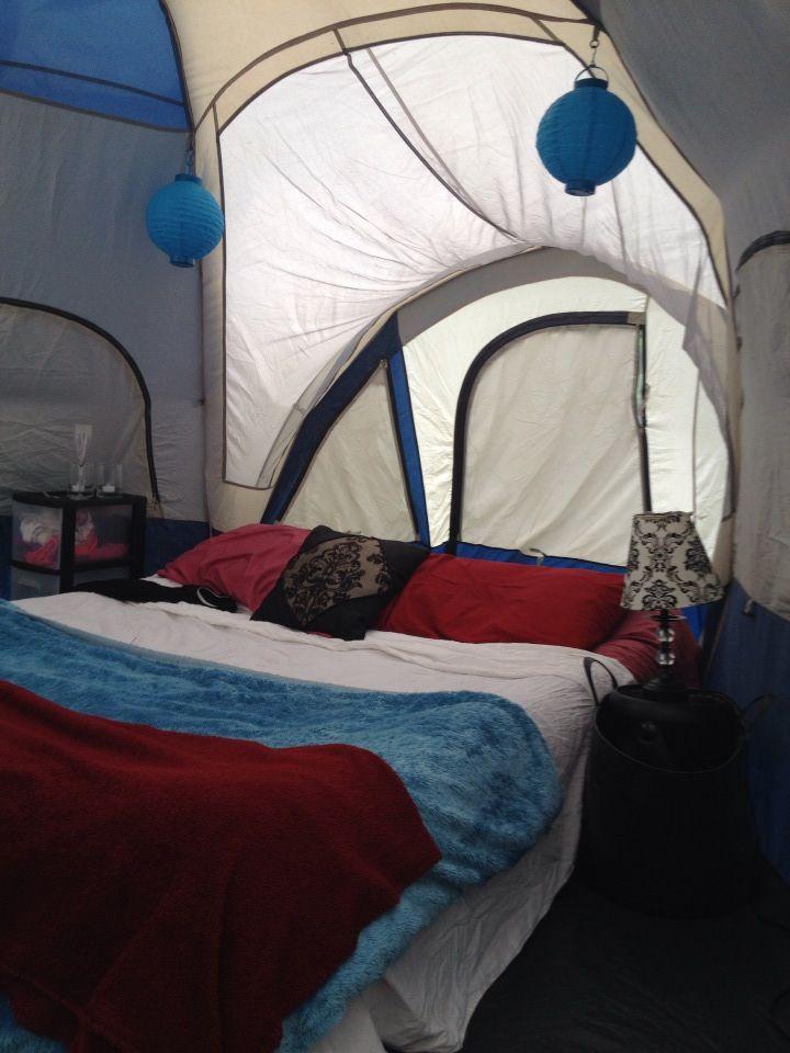 romantic camping. glamping. camping in the fall. camping ...