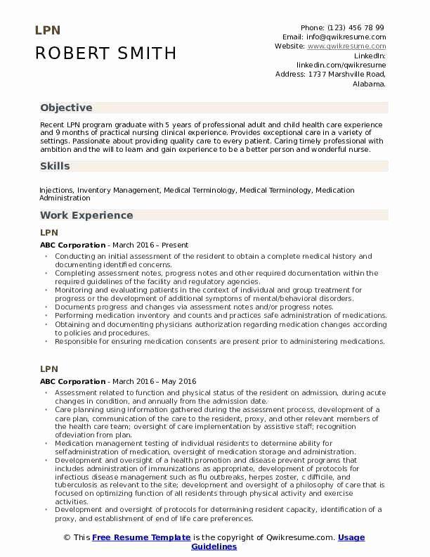 Lpn Resume With No Experience Printable Resume Template Teacher Resume Examples Engineering Resume Resume Examples